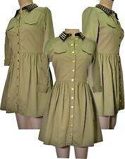 Topshop Collar Long Sleeve Dresses Midi