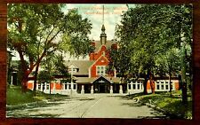 C. & N.W. Railroad Union Passenger Station Cedar Rapids Iowa Ia Postcard 1909