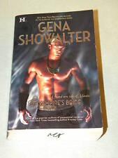 The Vampire's Bride by Gena Showalter 2009 pb Atlantis