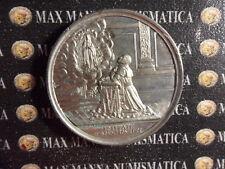 MEDAGLIA ARGENTATA LEONE XIII 1887 50° ANNIVERSARIO SACERDOZIO