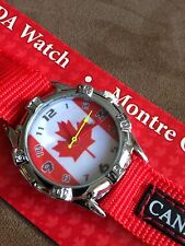 Canada  Flag   Watch  Beautiful Gift idea...Must Have.