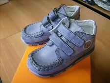 Scarpe Shoes Bambino Chicco Nr. 26 Color Grigio Tutta Pelle Nuove