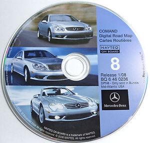 2000 2001 2002 2003 2004 CLK55 CLK500 CLK430 CLK320 Navigation CD#8 Mid Atlantic