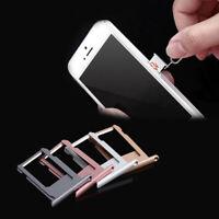 For Apple iPhone 6 / 6S /6 Plus Nano SIM Card Tray Adapter Slot Holder Socket dl