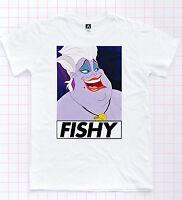 Fishy Ursula T-Shirt Serving LGBT Mermaid Princess Shady Pride Queens Tee