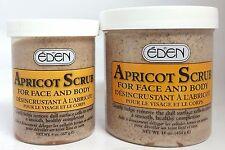 EDEN APRICOT SCRUB FOR FACE & BODY 8 oz /16 oz