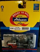 HO 1/87 SCALE Athearn 91999  Ford F-850 Cement Truck T Fisher Concrete New