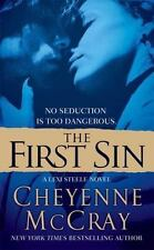 First Sin by Cheyenne McCray (2009, Paperback) VG - Free Shipping