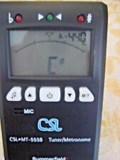 Summerfield  CSL MT 555B Metronome Tuner, piezo pick up..