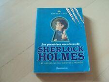 les premières aventures de SHERLOCK HOLMES les assassins du nouveau-monde