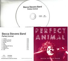 BECCA STEVENS BAND Perfect Animal 2015 UK 10-trk promo test CD