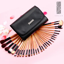 Fräulein3°8 31 Pcs Wooden Handle Makeup Cosmetic Brushes With Case X'mas Set