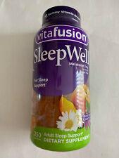 vitafusion Sleep Well Melatonin 3 mg Sleepwell ( 250 gummies ) Adult Sleep suppo
