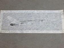 Ra-5 A-3 Vigilante Crew Signed Us Navy Rvah Vah Naa Squadron Aviation Art Print