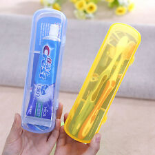 Portable Travel Camping Tooth Brush Box Toothbrush Holder Tube Plastic Cover Hot