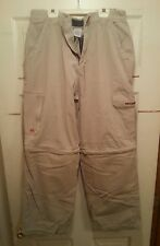 Billabong Khaki Cargo Pants/Shorts  32W x 30L