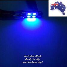 Mitsubishi Pajero BLUE LED 6SMD Premium Dome Light Festoon Bulb Upgrade