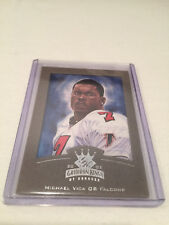 2002 Donruss Gridiron Kings Michael Vick Atlanta Falcons insert #3 serial #d