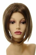 Toupet Haarteil Haarersatz Aufsatz groß lang Braun-Blond-Mix L056-12H26