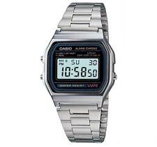 Casio Retro Digitaluhr Uhr A158WA-1D Armbanduhr Digital Herren Damen Uhr