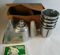 Vintage Hamilton Beach Salad Maker Attachment Model 553 NOS Unused in Orig Box