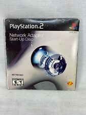 SONY PLAYSTATION 2 PS2 NETWORK ADAPTER START-UP DISC Complete(004)