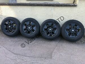 *NEW* Genuine Nissan Navara NP300 N Guard Alloy Wheels With Tyres 255/60 R18 HXL