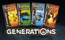 Pokemon 20th Anniversary TCG - 1x Generations Booster pack, you pick the artwork