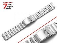 For SEIKO Watch SILVER Stainless Steel Watch Strap Band Bracelet Clasp 23/20mm