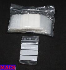 100 Tütchen Polybeutel 40 x 60 Label Schreibfeld Druckverschlussbeutel Zip Tüten