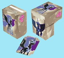 MY LITTLE PONY NIGHTMARE MOON DECK BOX NEW Ultra Pro Card Storage Protector Case