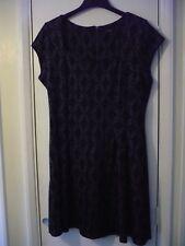 Ladies black dress, by George size 18.