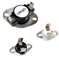 HQRP Dryer Thermostat & Thermal Fuse Kit for Magic-Chef AH2162282 LA1053 LA-1053