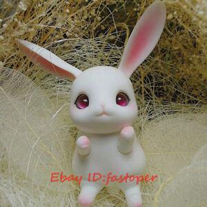 1/12 Bjd Tobi Cheeriya BJD Doll Rabbit Doll Pet Animal Rice cake rabbit Cute