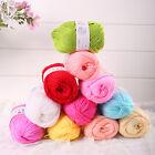 Brand New 50g Wholesale Lot Soft Natural Bamboo Cotton Knitting Yarn Fingering