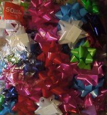 50 Gift Bows  3 Sizes