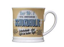 Vasos de chocolate de la nº 1 schokoholic retrobecher vaso café de glasxpert