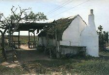Vieja postal-Parque Natural Delta del Ebro-la Barraca