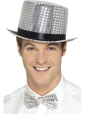 Smiffys 48262 Sequin Top Hat One Size