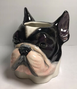 Boston Terrier Dog Coffee Tea Mug Cup Large Nemesis Now Unused