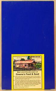 NEW N Blair Line Laser Cut #1005 Greene's Feed & Seed Kit