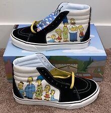 2020 Vans x The Simpsons 30th SK8-HI 1987-2020 Men 10/ Women 11.5 IN HAND