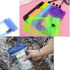 Mobile Smart Cell Phone Case Money Belt Neck Strap Card Holder Waterproof Bag RE