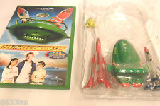 5 4 3 2 1 FAB SET OF 4 THUNDERBIRD TOYS + DVD + TRACY ISLAND MAP (NEW)
