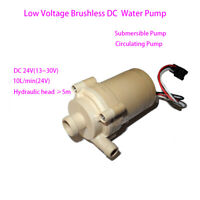 13-30V Low Voltage DC Brushless Water Pump DC 24V Solar Pump Submersible Pump EL