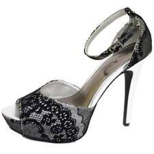 Zapatos de tacón de mujer sin marca color principal negro talla 38