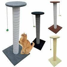 100cm Tall Giant Handmade Cat Scratching Post Kitten Extra Large Pole Stand XL