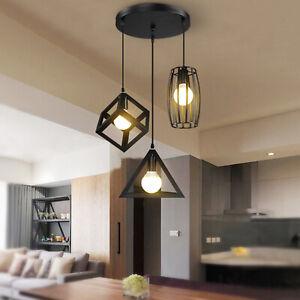 Retro Deckenlampe Vintage-Leuchte Pendelleuchte Hängelampe Industrie Design 60w