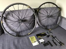 Mavic R-Sys SLR Clincher Road Wheelset 700c Carbon Spokes Exalith Rims And Tires