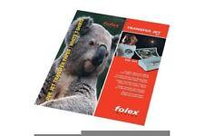 FOLEX Transferpapier für T-Shirts, A4-Format, 10 Blatt